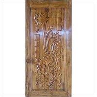 CNC Sagwan Door