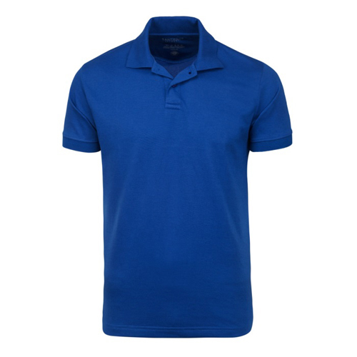 Mens Collared Plain T Shirt
