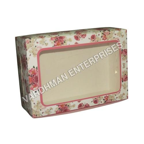 Cookies Box Flora Print