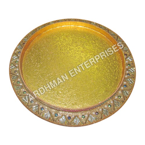 Round Handmade Tray