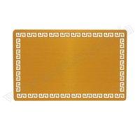 Visiting Card Golden