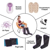 Kawachi Slimming Air Pressure Massager for Leg & Thigh Massage Weight Loss Air Compression Wrap - K474