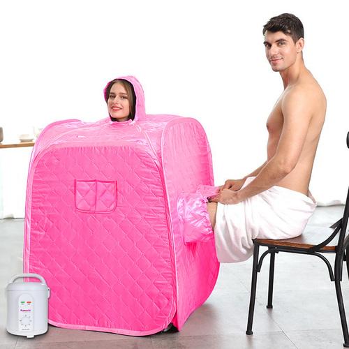 Steam Sauna Cube Steam foot Relax Slimming Improves Blood Circulation Cabin