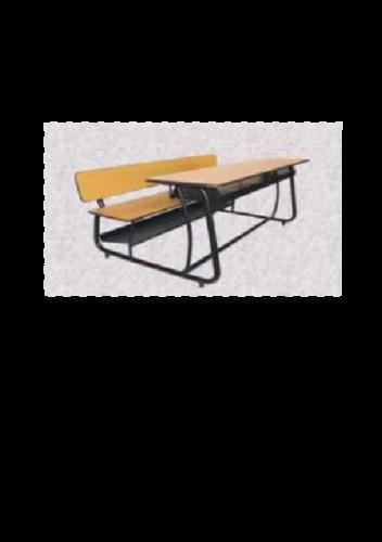 Metal School Bench