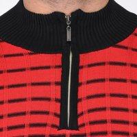 Flat Knit Half Sleeve T Shirt