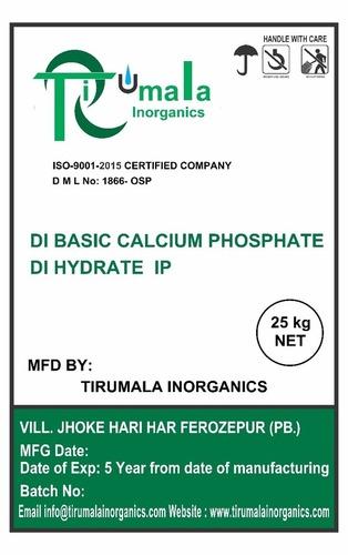 Di Calcium Phosphate Di Hydrate Ip Grade: Tech Grade