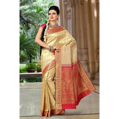Ladies Embroidery Fancy Silk Saree