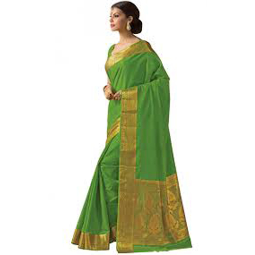 Ladies Heavy Art Work Silk Saree
