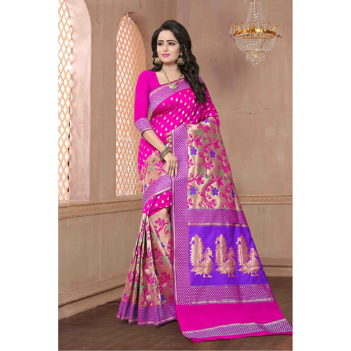 Ladies Silk Pattern Saree
