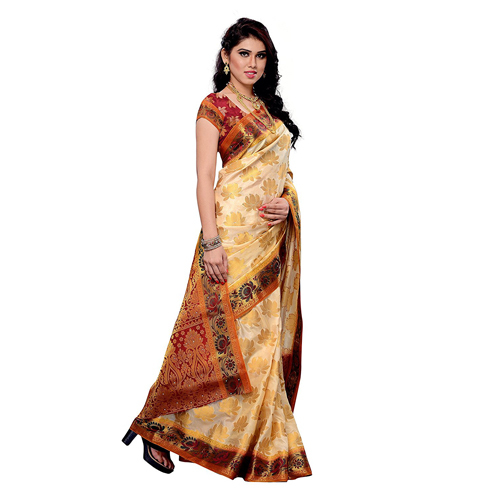Ladies Silk Printed Sarees