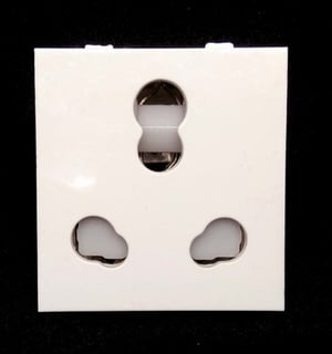 16A Multi Socket with Shutter