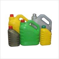 Fresh engine oil bottles