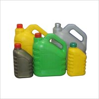 Fresh engine oil bottles