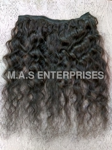 Indian Natural  curly hair Extension