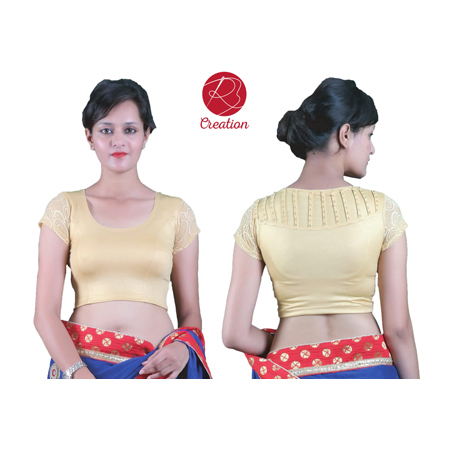 Ladies Golden Blouse