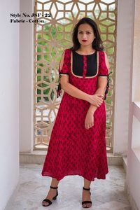 Fancy Ladies Cotton Kurtis
