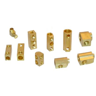 Gold Brass Electrical Components