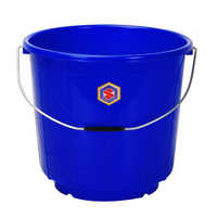 9 Ltrs Blue Plastic Bucket