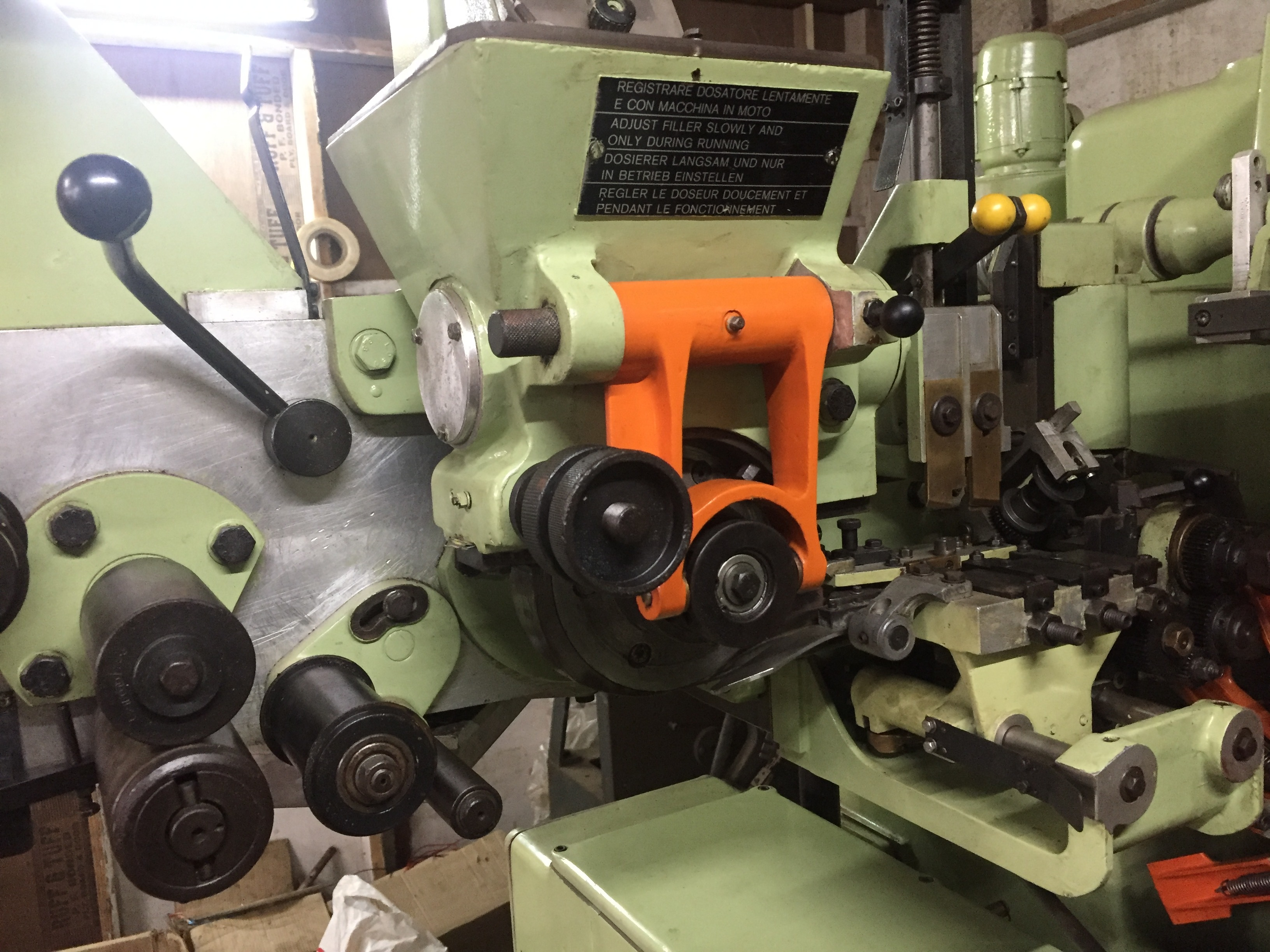 Refurbished IMA C21 Heated Outer Envelope Machine