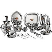 Dinner Set 51 Lightweight Stainless Steel