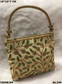 Beautiful embroidered handbag
