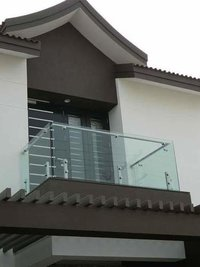 Glass Balcony Railing