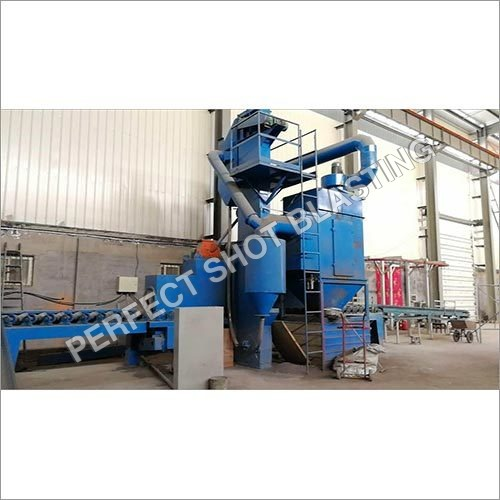 LPG Shot Blasting Machine