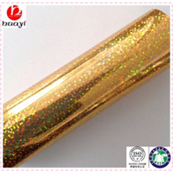 Gold Holographic Hot Stamping Foil
