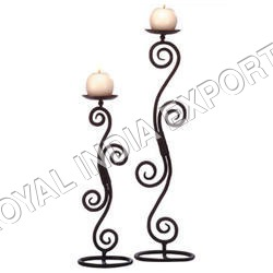 Modern Iron Candle Stand