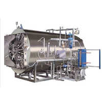 Bung Processor With Rotary Autoclave
