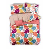 Double Designer Print Bedsheet Set