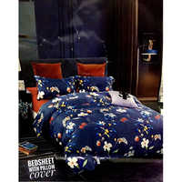 Printed Bedsheet Pillow Cover