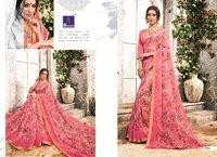 Beautiful Print Sarees Online
