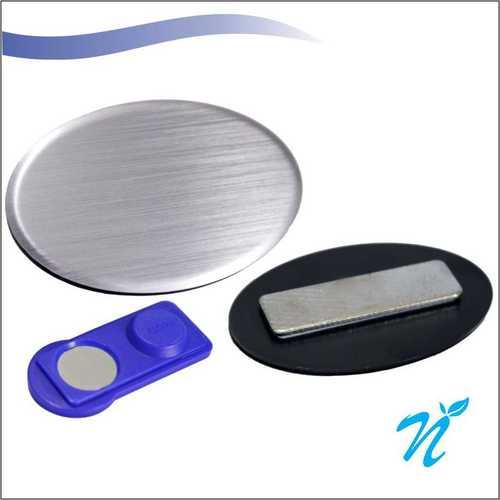 Magnetic Metal Badge( Golden )