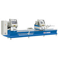 Aluminium Profiles Precision Double Mitre Cutting Machine