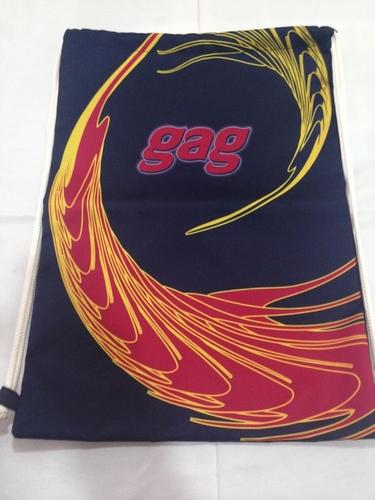 Nylon Drawstring Gym Bag