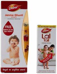 Dabur Janma Ghunti Baby Digestive, 125 ml with Free Janma Ghunti, 25ml