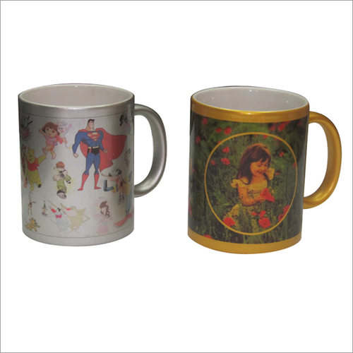 Silver- Golden Mug