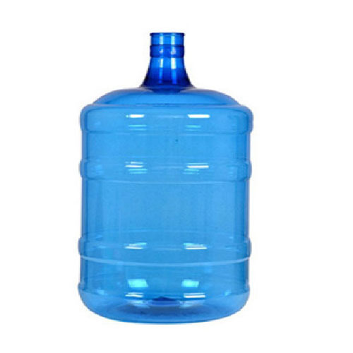Blue Plastic Water Jar
