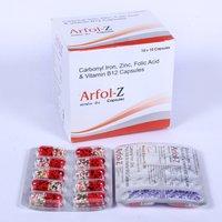 Carbonyl Iron,Zinc,Folic Acid & Vitamin B12 Capsules