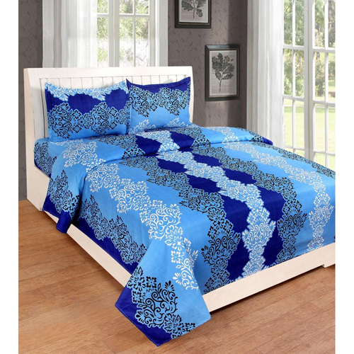 Blue 3d Bed Sheet
