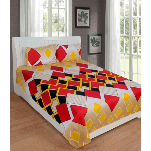 Red 3d Bed Sheet