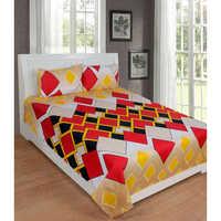 Red 3d BedSheet