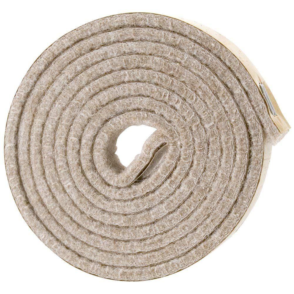 Carbonized Felt Strip