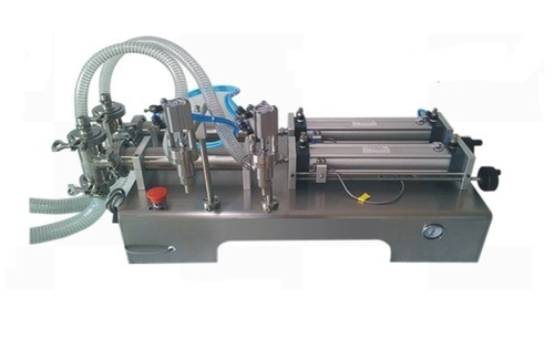 Double Head Liquid Filling Machine Pneumatic