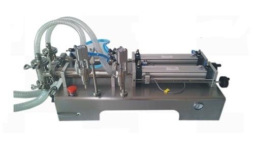Semi Automatic Pneumatic Piston Based Liquid Filling Machine