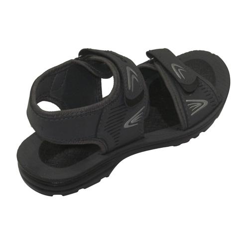 Gray Kids Sandals