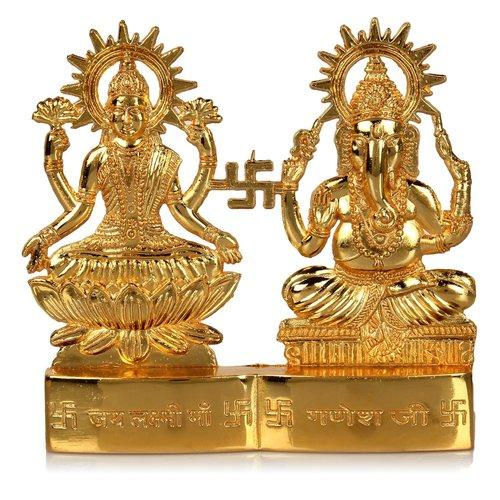 Zinc Laxmi Ganesh Statue