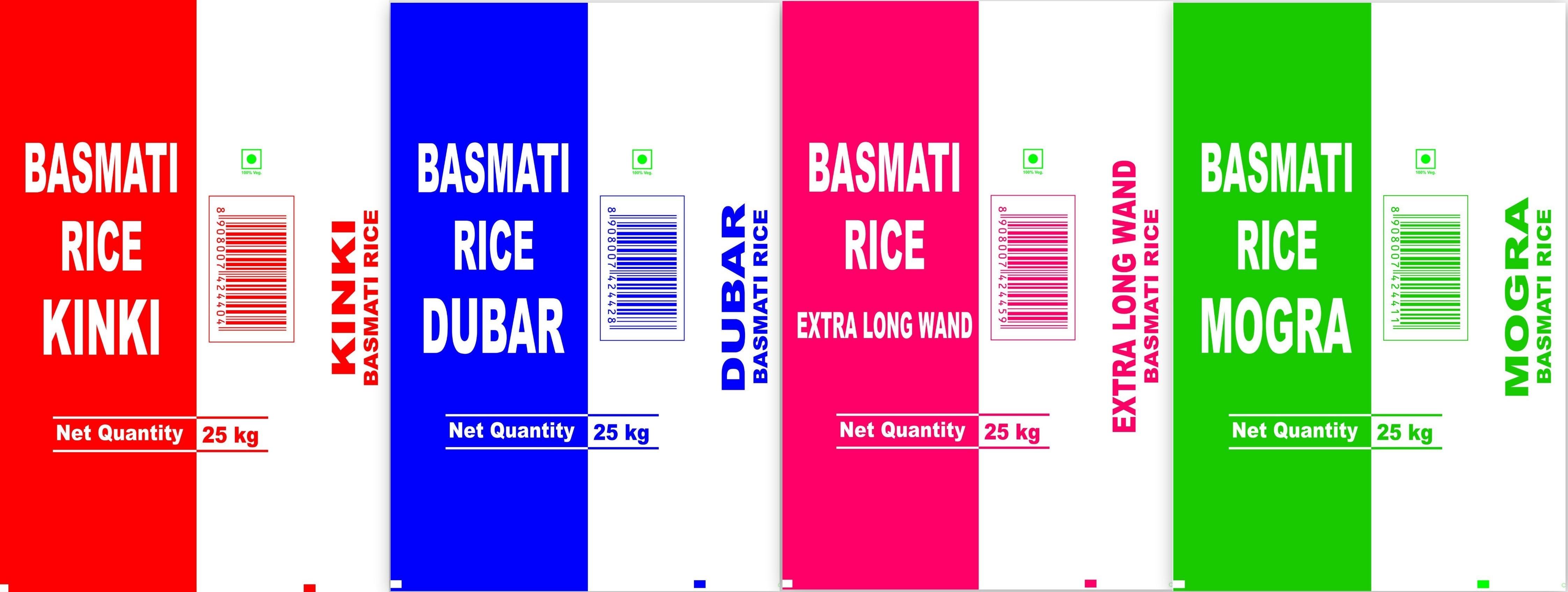 BOPP Rice Packaging Bags
