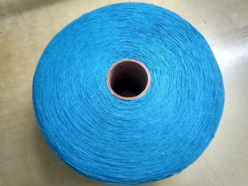 Open End Blue Yarn